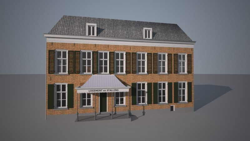 Dorpsstraat 9, Hummelo [1900] (De Gouden Karper)