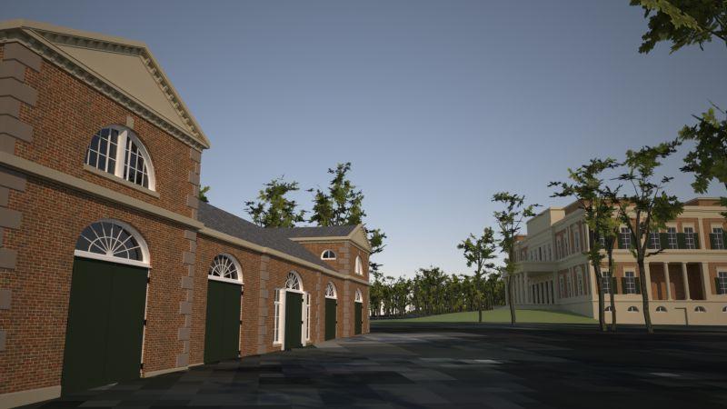 Model van kasteel Enghuizen Hummelo
